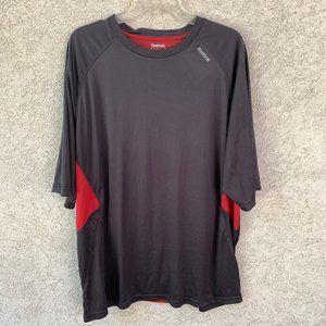 Reebok Athletic shirt short sleeve Men's 2XL